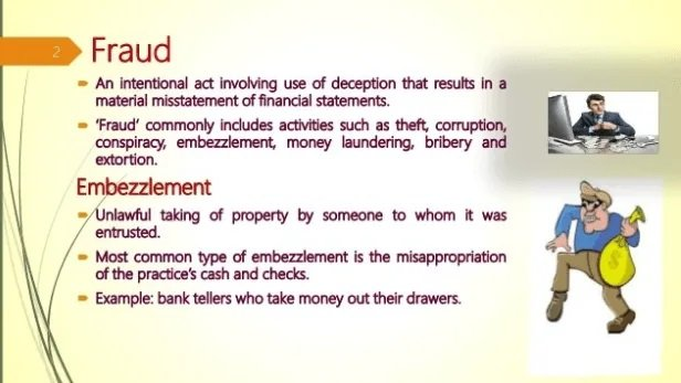 Seven Examples of Embezzlement